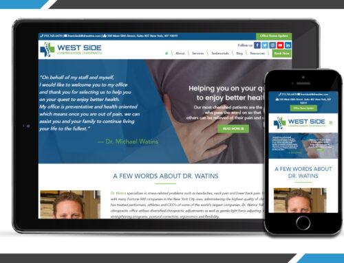 Dr. Watins, West Side Comprehensive Chiropractic